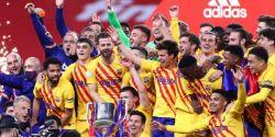 Messi faz 2, Barcelona goleia Athletic Bilbao e é campeão da Copa do Rei